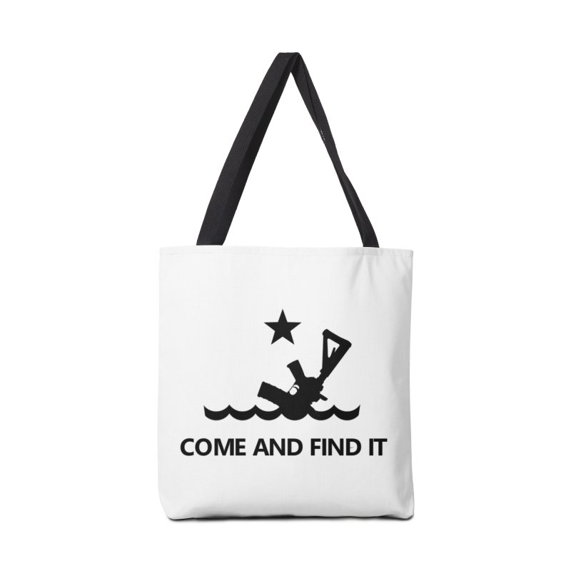 Come and Find It - Black Logo Accessories Bag by Rally For Our Rights Shop