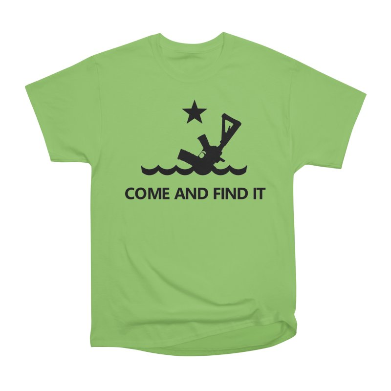 Come and Find It - Black Logo Women's Heavyweight Unisex T-Shirt by Rally For Our Rights Shop