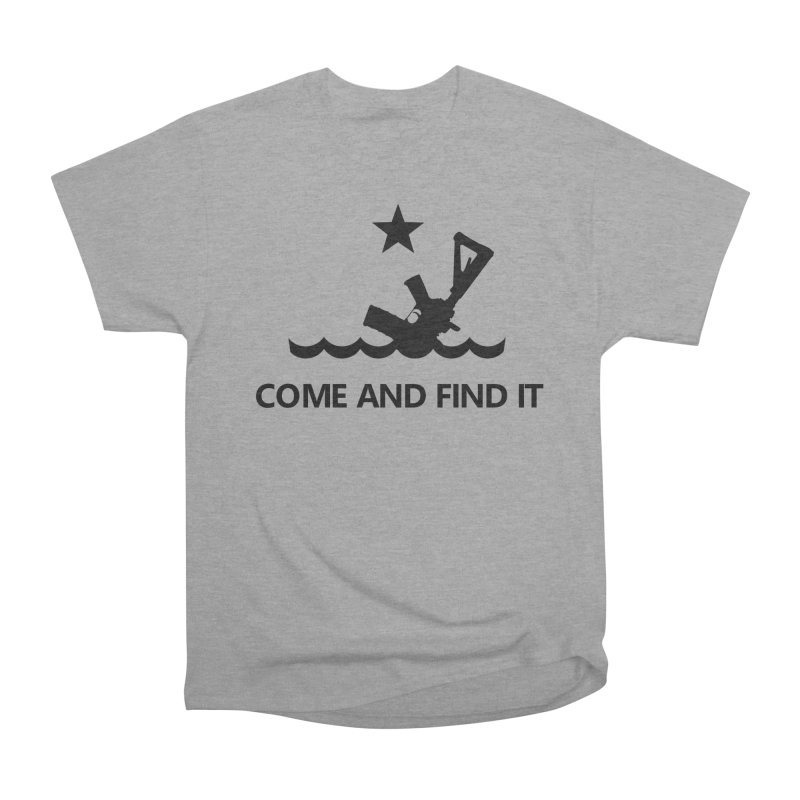 Come and Find It - Black Logo Men's Heavyweight T-Shirt by Rally For Our Rights Shop