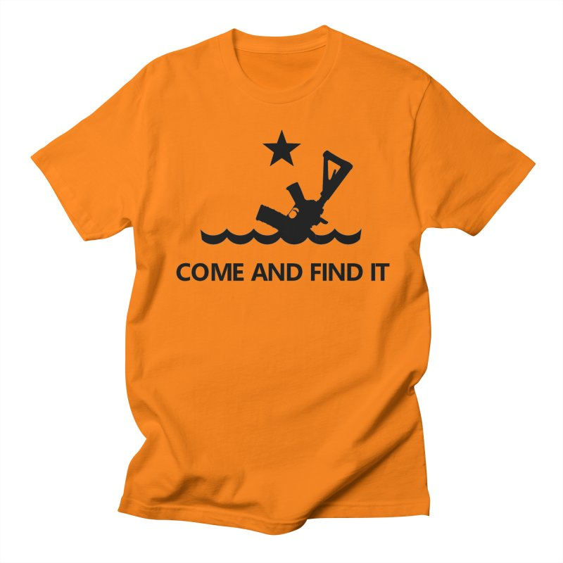 Come and Find It - Black Logo Women's Regular Unisex T-Shirt by Rally For Our Rights Shop