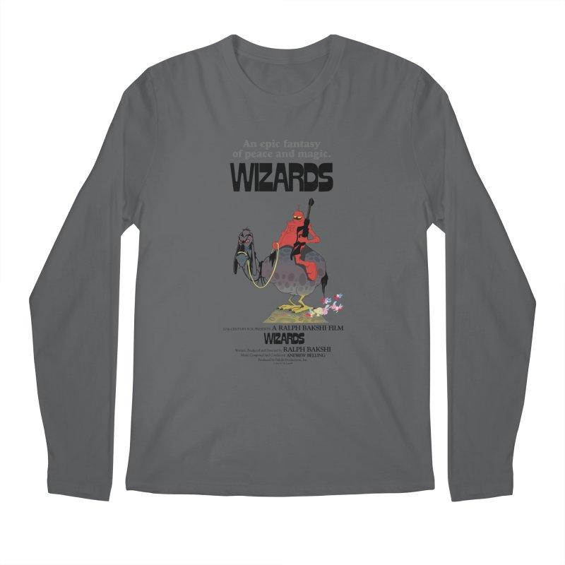 Wizards by Ralph Bakshi Men's Longsleeve T-Shirt by Ralph Bakshi Studios