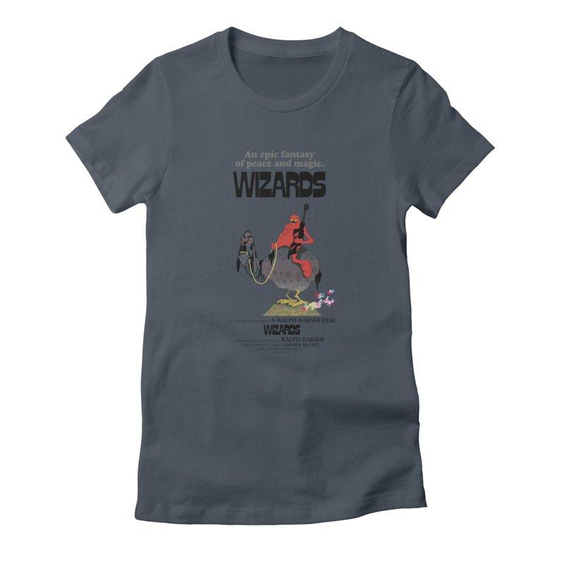 Wizards by Ralph Bakshi Women's T-Shirt by Ralph Bakshi Studios