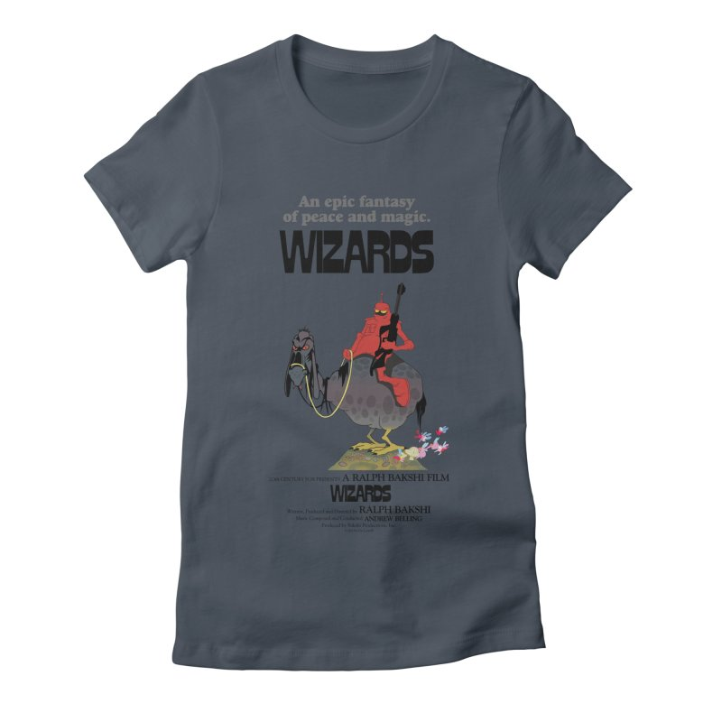 Wizards by Ralph Bakshi Women's T-Shirt by Ralph Bakshi Studios
