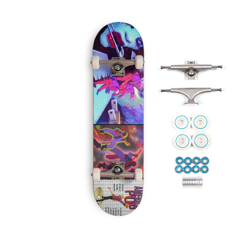 American Pop - Sex Pistols Accessories Skateboard by Ralph Bakshi Studios