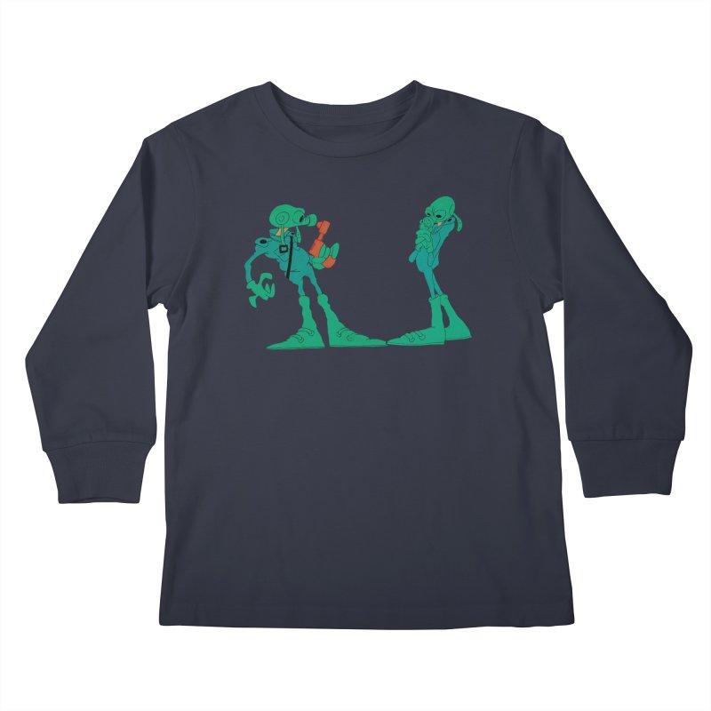 Blackwolf's Soldiers  from Wizards Kids Longsleeve T-Shirt by Ralph Bakshi Studios