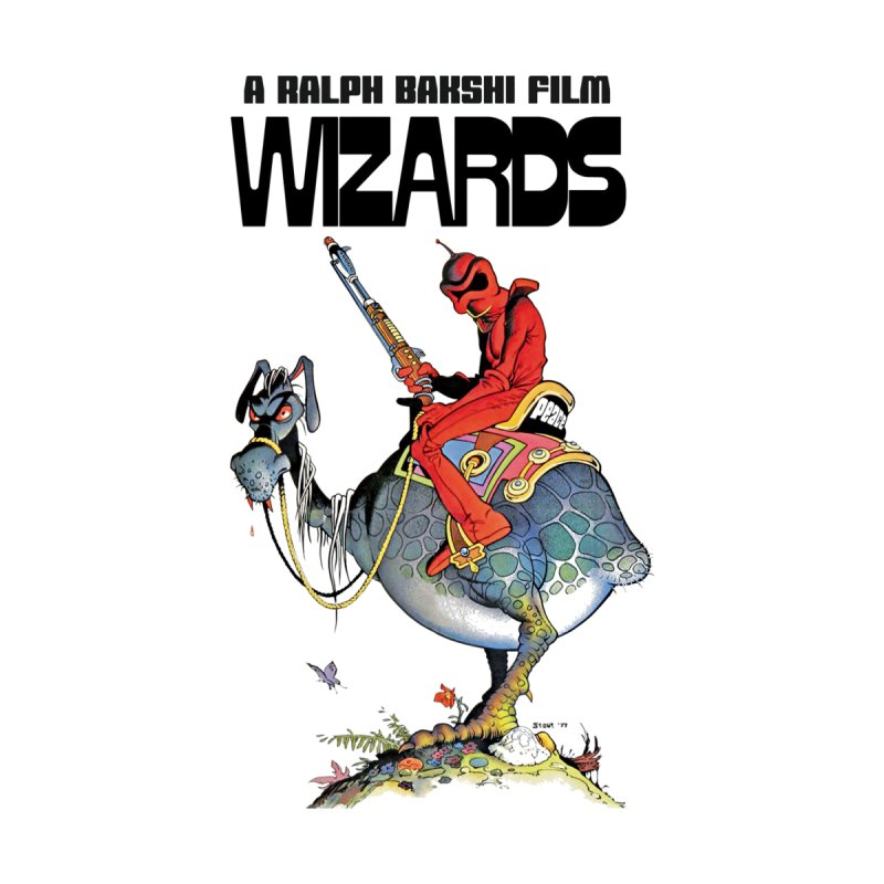 Ralph Bakshi's WIZARDS Men's T-Shirt by Ralph Bakshi Studios