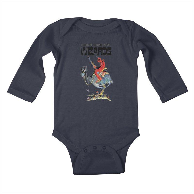 Ralph Bakshi's WIZARDS Kids Baby Longsleeve Bodysuit by Ralph Bakshi Studios