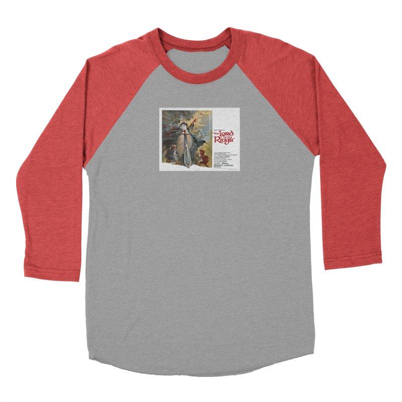 lotr poster 1 Men's Longsleeve T-Shirt by Ralph Bakshi Studios