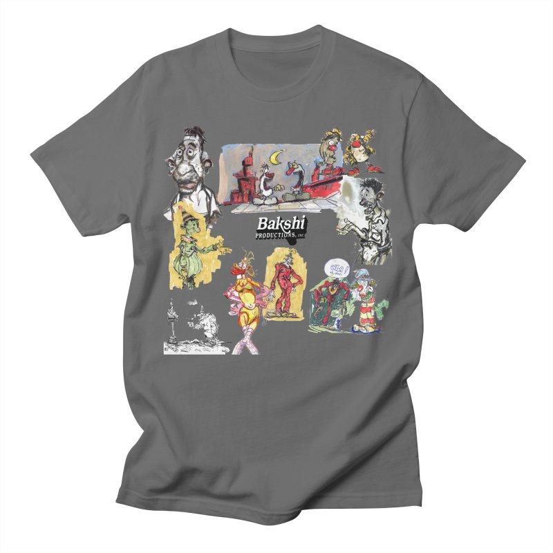 Doodle T  Men's T-Shirt by Ralph Bakshi Studios