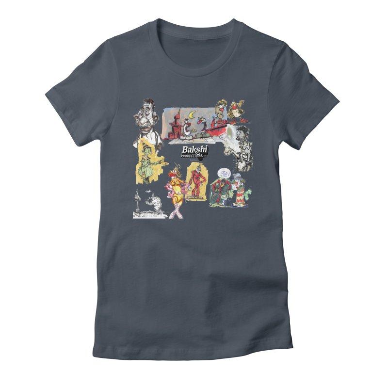 Doodle T  Women's T-Shirt by Ralph Bakshi Studios