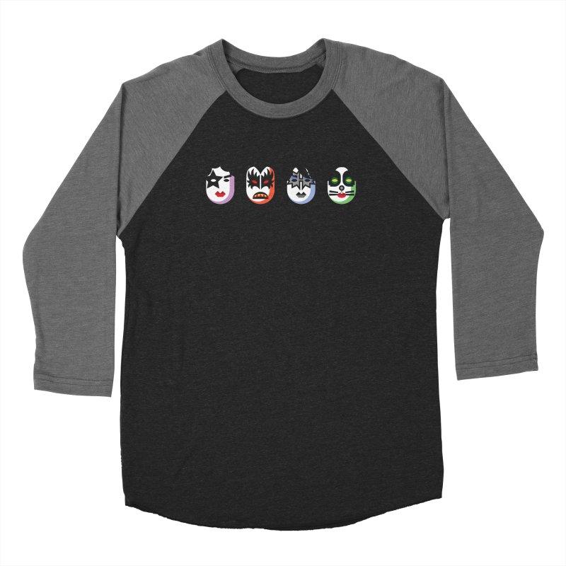 Black Diamond Men's Baseball Triblend Longsleeve T-Shirt by Ramon Olivera Illustration Shop