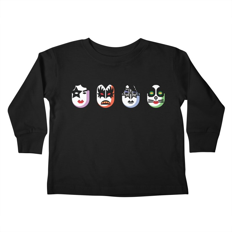 Black Diamond Kids Toddler Longsleeve T-Shirt by Ramon Olivera Illustration Shop