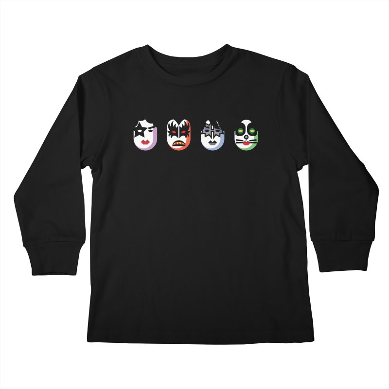 Black Diamond Kids Longsleeve T-Shirt by Ramon Olivera Illustration Shop