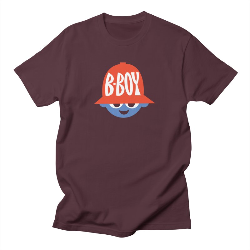 B-Boy Men's T-Shirt by Ramon Olivera Illustration Shop