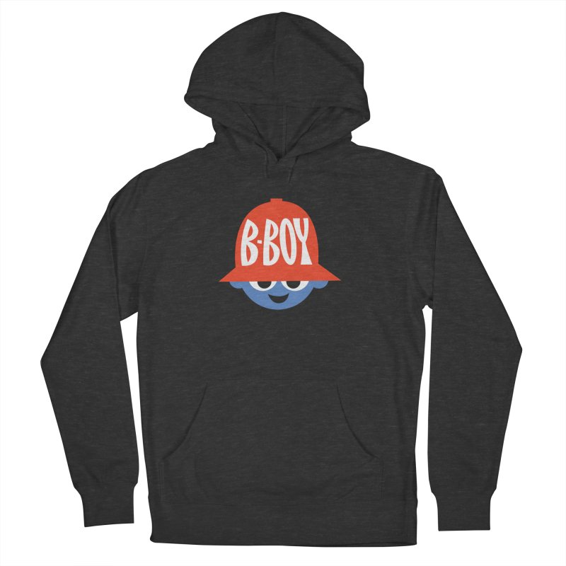 B-Boy Men's French Terry Pullover Hoody by Ramon Olivera Illustration Shop