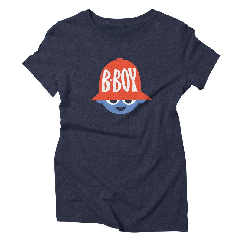 B-Boy Women's Triblend T-Shirt by Ramon Olivera Illustration Shop