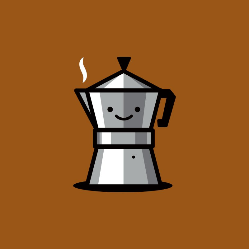 Cafecito by Ramon Olivera Illustration Shop
