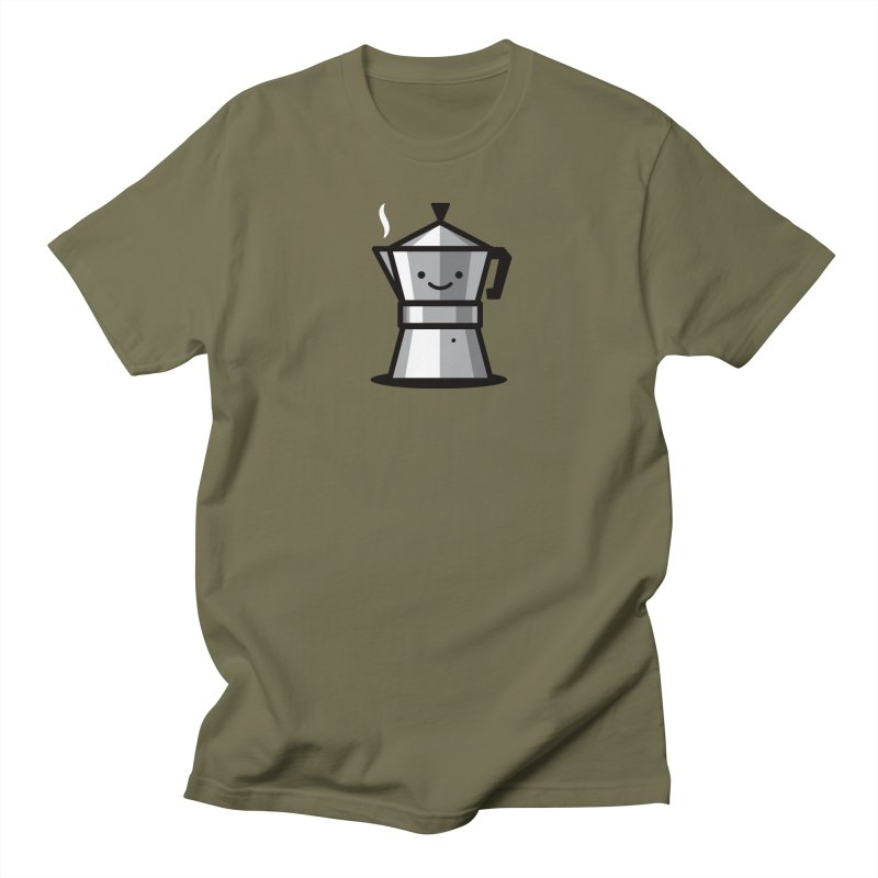 Cafecito Men's Regular T-Shirt by Ramon Olivera Illustration Shop