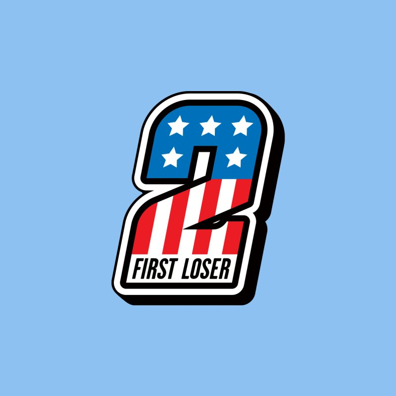 First Loser Men's T-Shirt by Ramon Olivera Illustration Shop