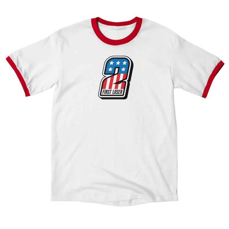 First Loser Men's T-Shirt by Ramon Olivera Illustration Shop