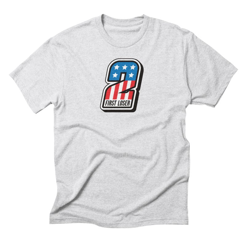 First Loser Men's Triblend T-Shirt by Ramon Olivera Illustration Shop