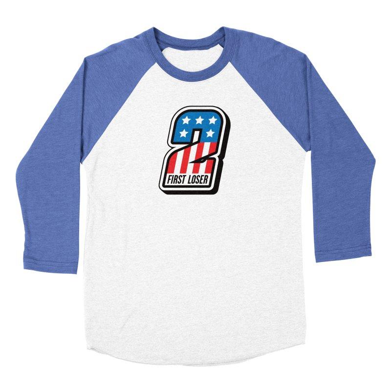First Loser Men's Baseball Triblend Longsleeve T-Shirt by Ramon Olivera Illustration Shop
