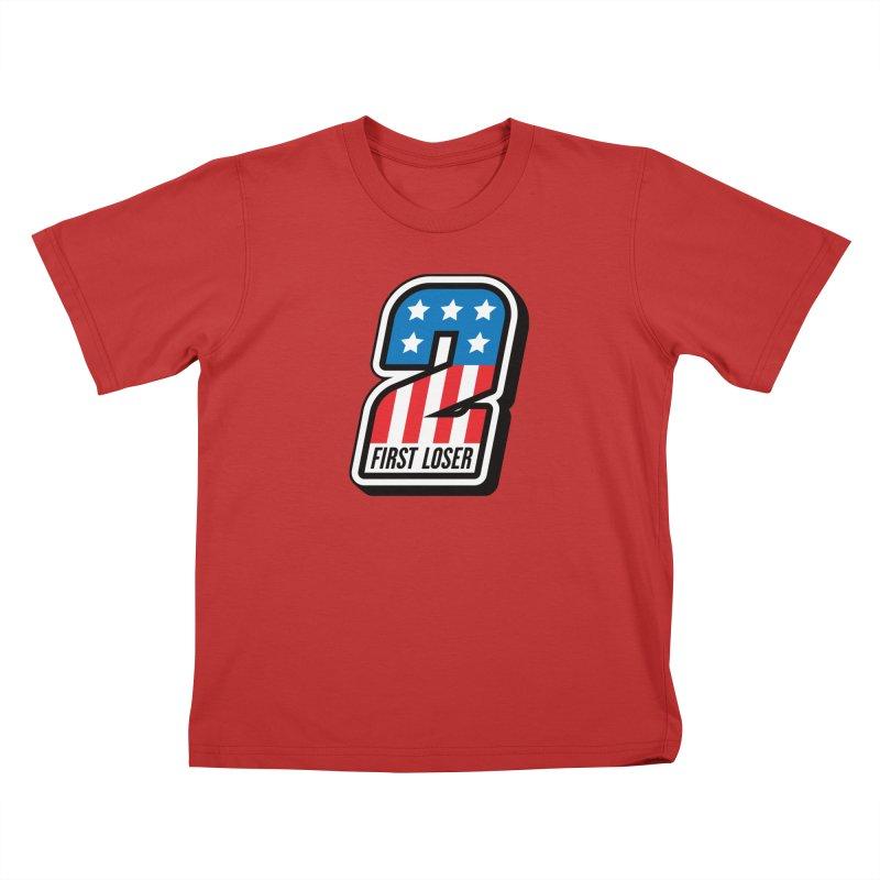 First Loser Kids T-Shirt by Ramon Olivera Illustration Shop