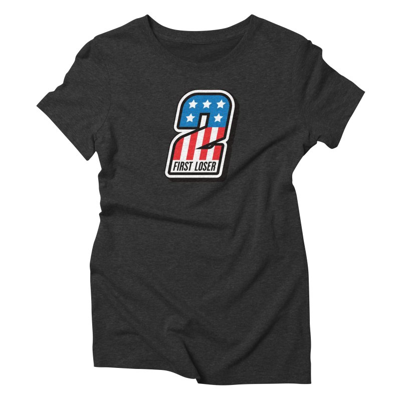 First Loser Women's Triblend T-Shirt by Ramon Olivera Illustration Shop