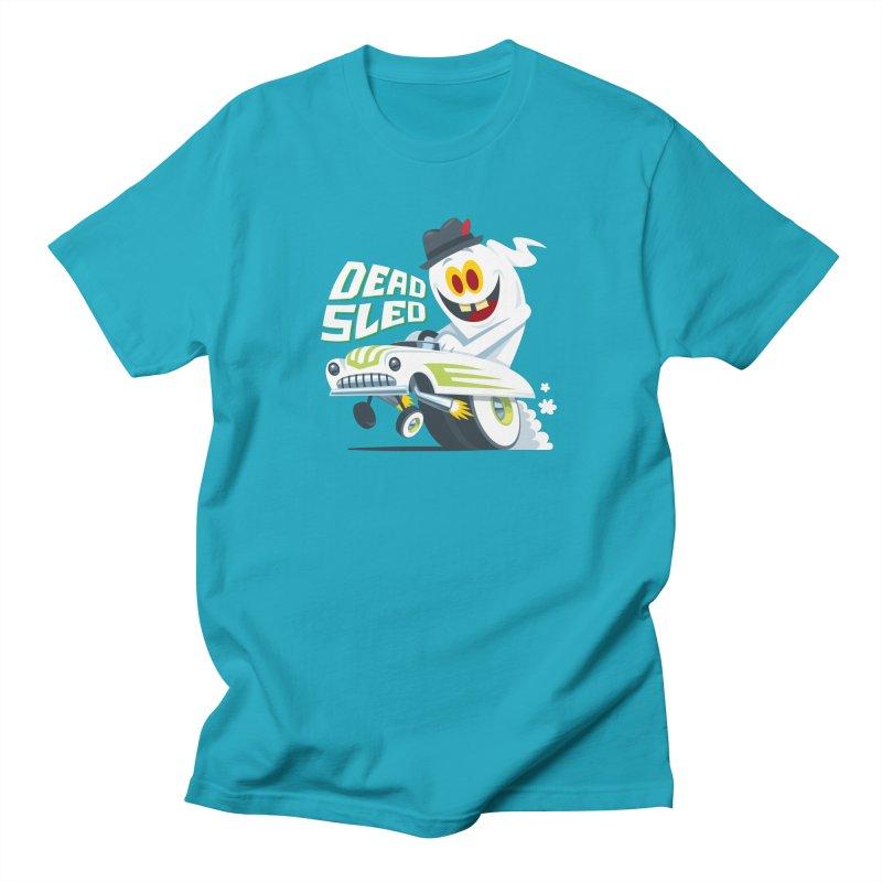 Dead Sled 2 Men's T-Shirt by Ramon Olivera Illustration Shop