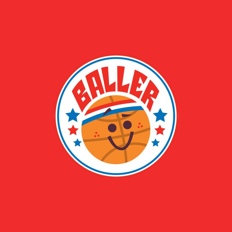 Baller Men's T-Shirt by Ramon Olivera Illustration Shop