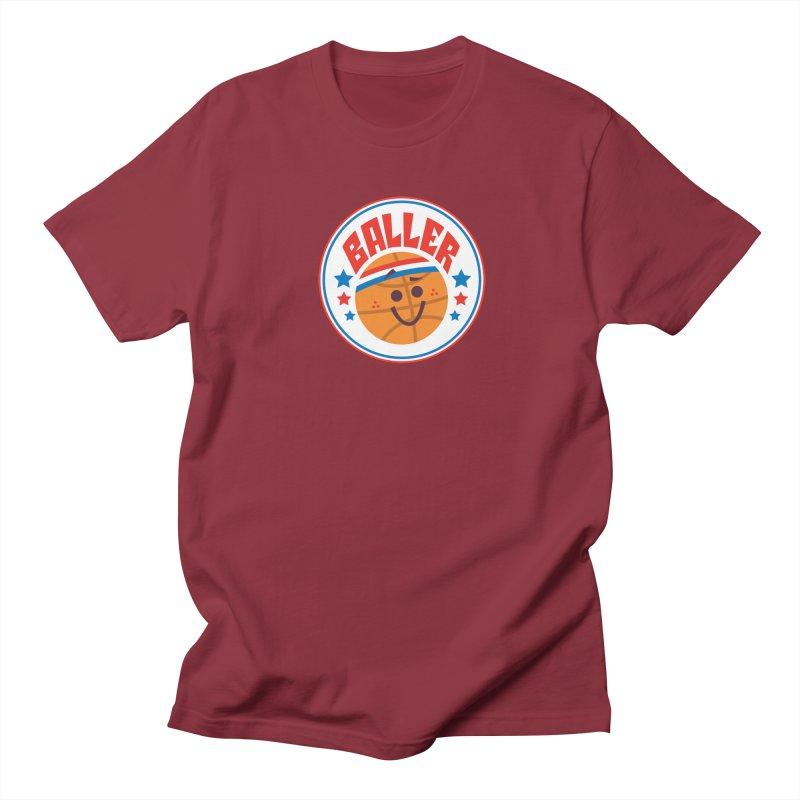 Baller Women's Regular Unisex T-Shirt by Ramon Olivera Illustration Shop