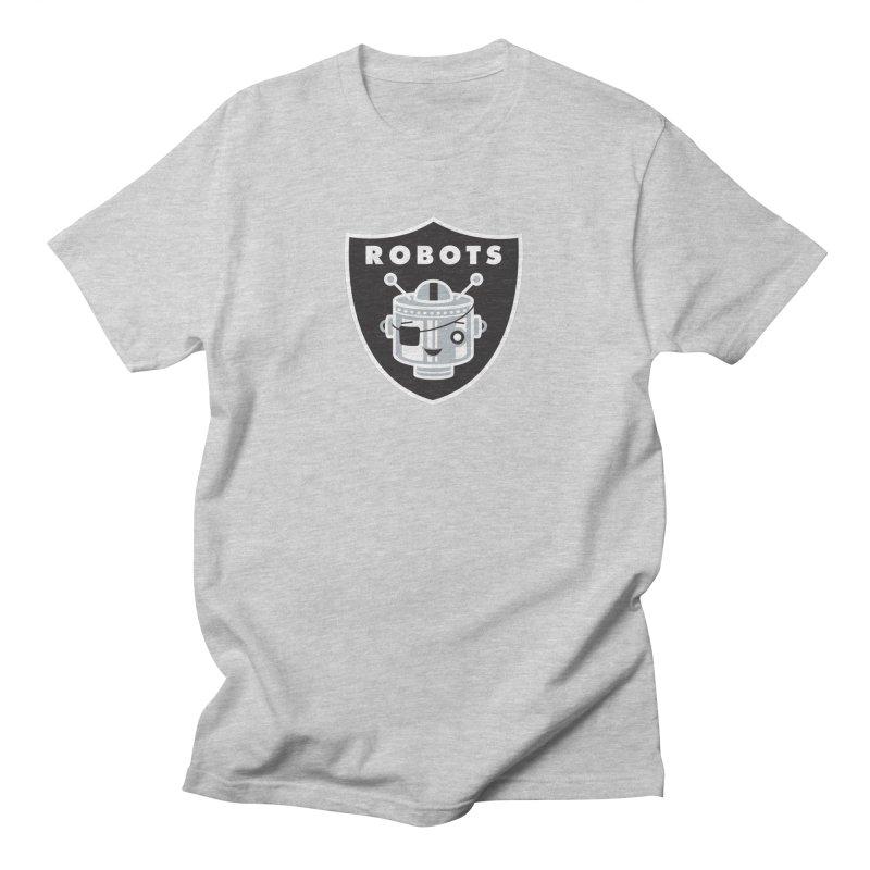 Robot Nation Men's T-Shirt by Ramon Olivera Illustration Shop
