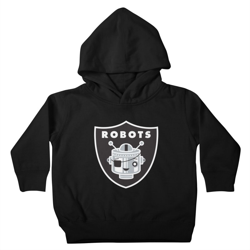 Robot Nation Kids Toddler Pullover Hoody by Ramon Olivera Illustration Shop