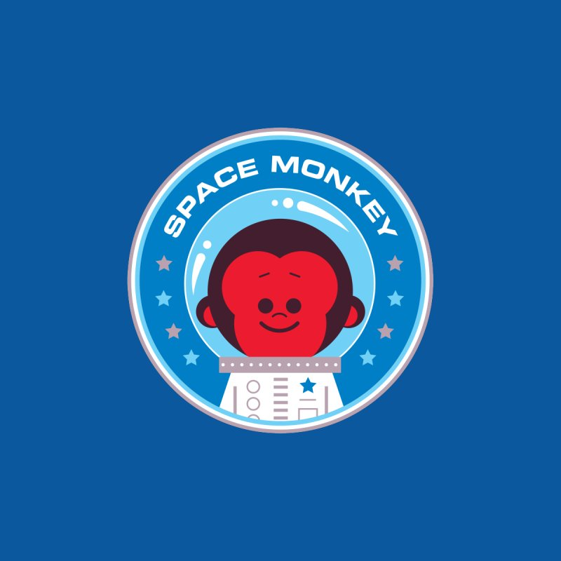 Space Monkey by Ramon Olivera Illustration Shop