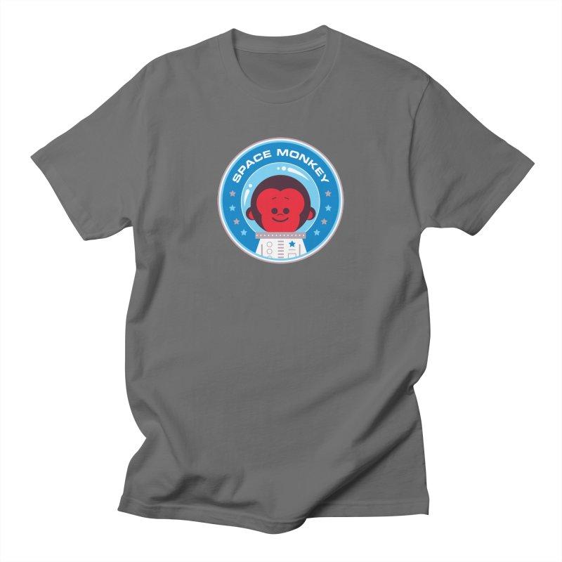 Space Monkey Women's T-Shirt by Ramon Olivera Illustration Shop