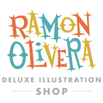 Ramon Olivera Illustration Shop Logo
