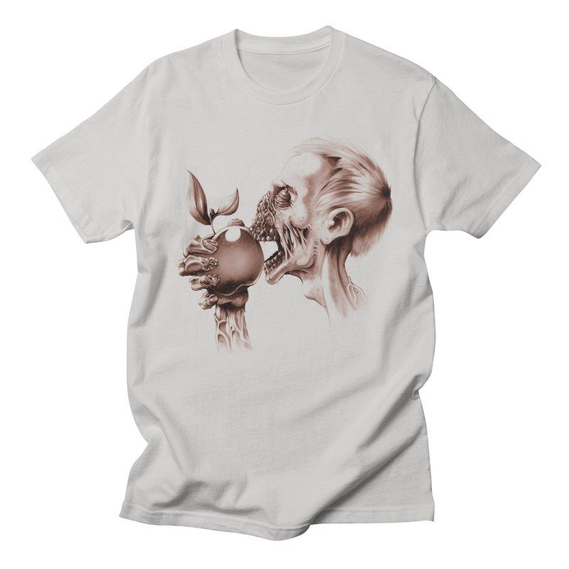 Vegetarian Zombie Men's T-Shirt by ramos's Artist Shop