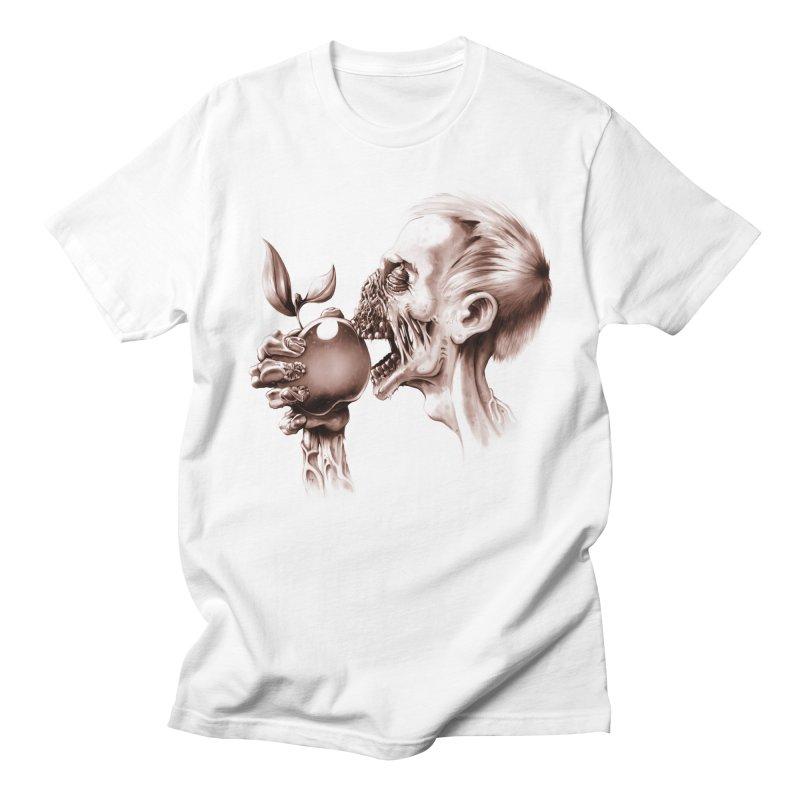 Vegetarian Zombie Women's Unisex T-Shirt by ramos's Artist Shop