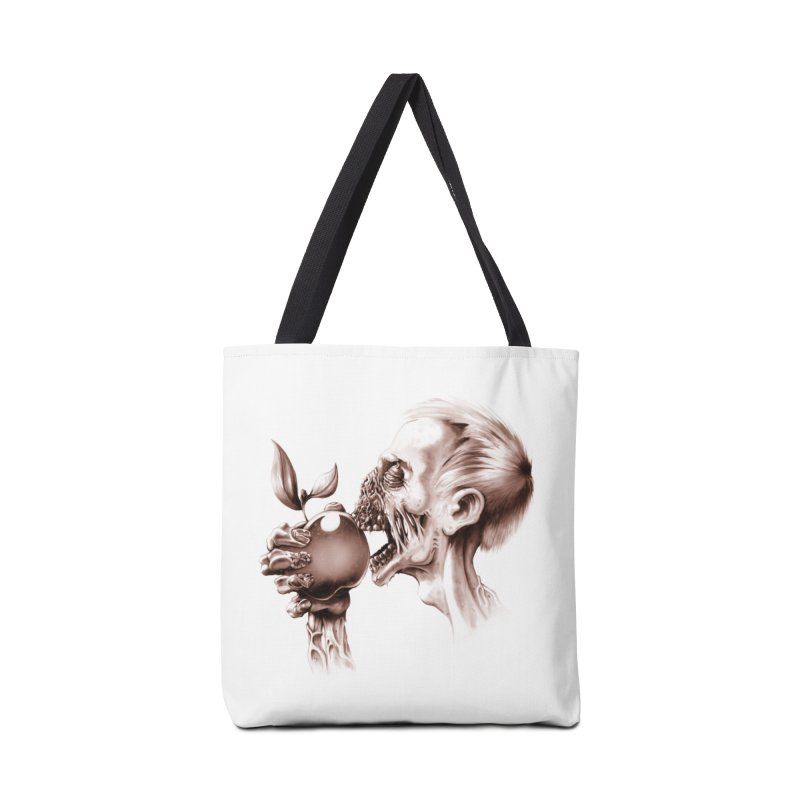 Vegetarian Zombie Accessories Bag by ramos's Artist Shop