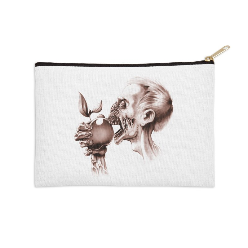 Vegetarian Zombie Accessories Zip Pouch by ramos's Artist Shop
