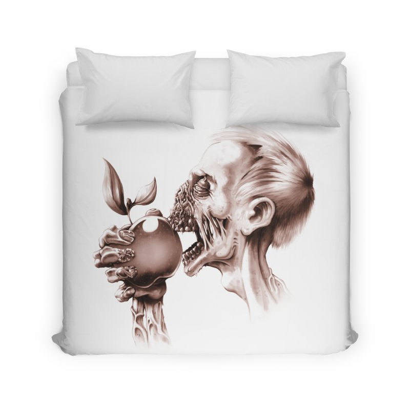 Vegetarian Zombie Home Duvet by ramos's Artist Shop