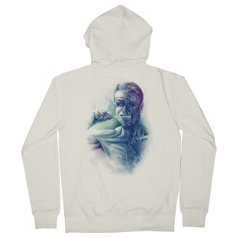 Hygienic Zombie Men's Zip-Up Hoody by ramos's Artist Shop