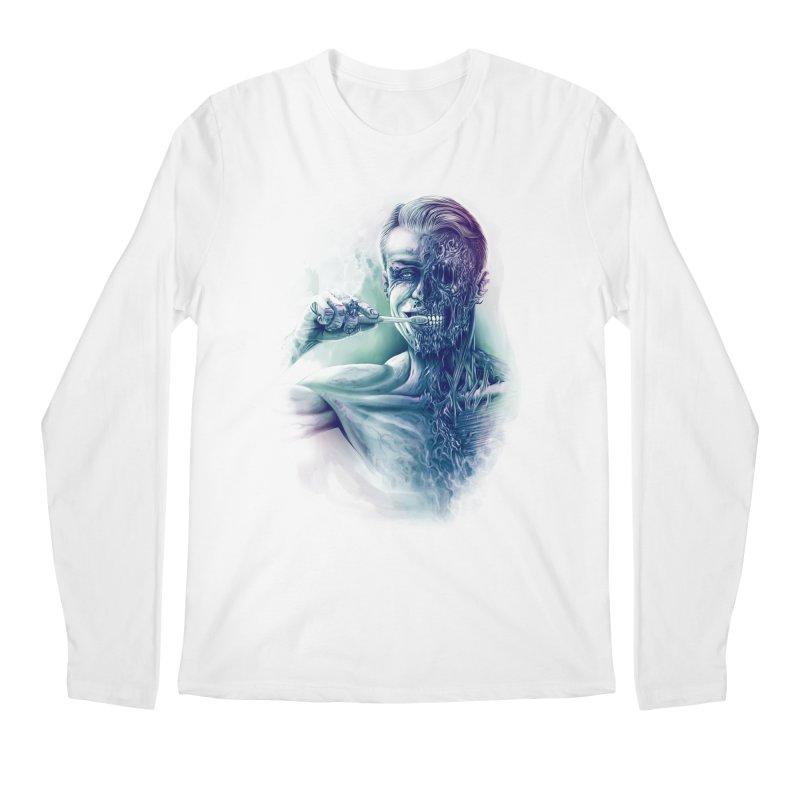 Hygienic Zombie Men's Longsleeve T-Shirt by ramos's Artist Shop
