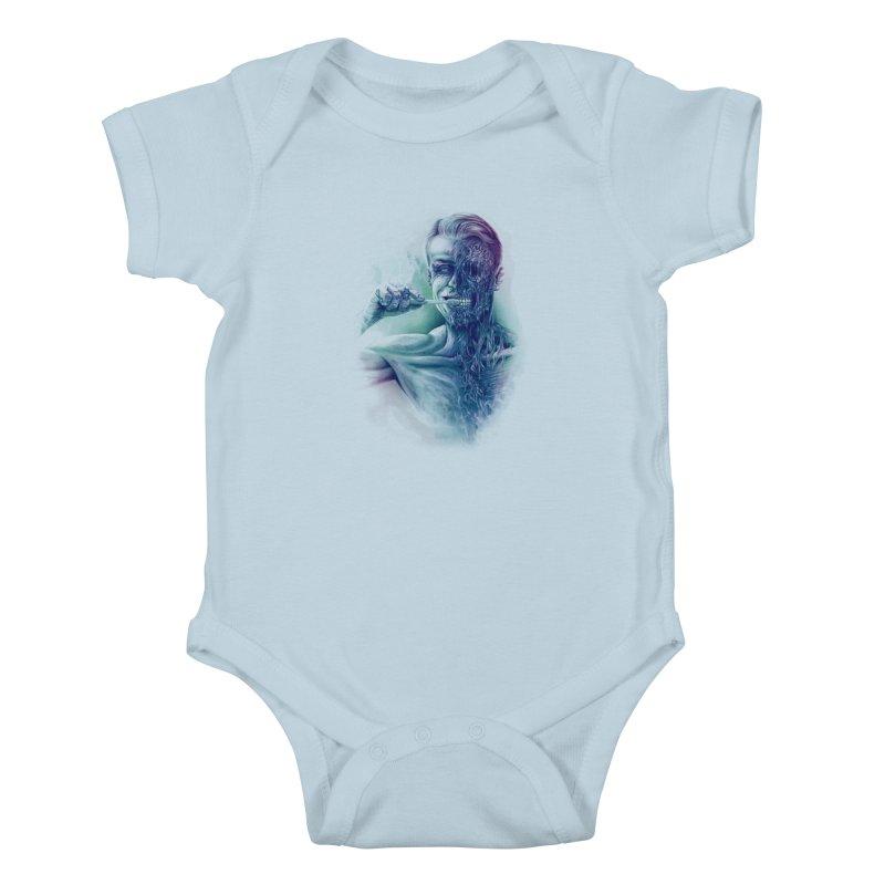 Hygienic Zombie Kids Baby Bodysuit by ramos's Artist Shop