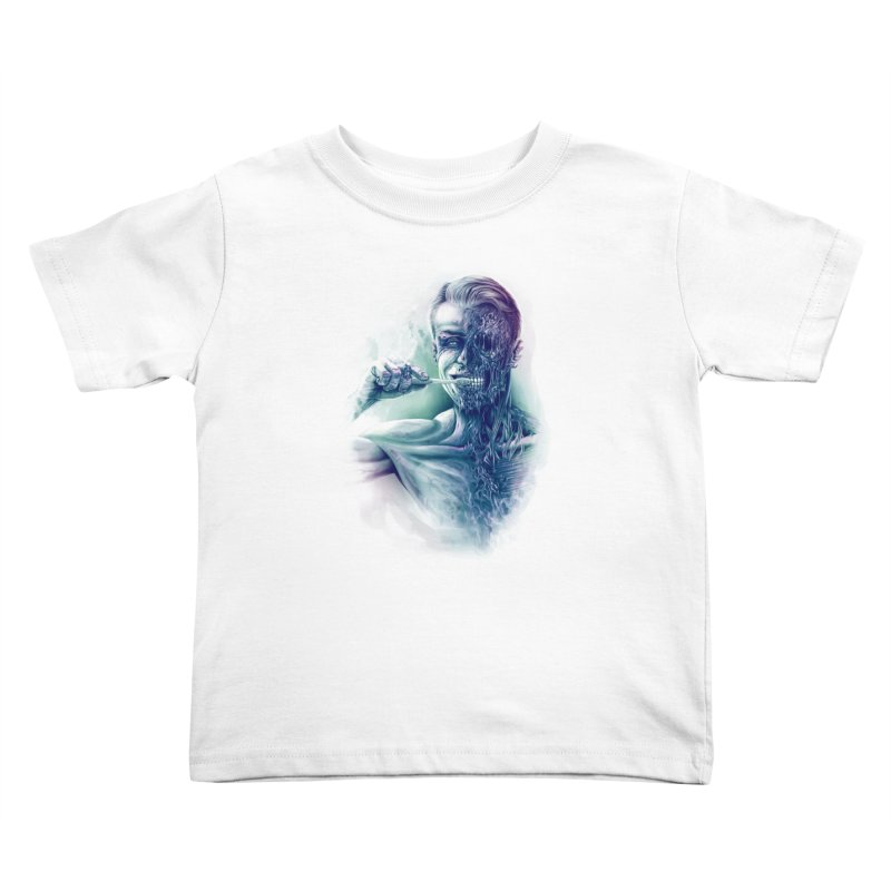 Hygienic Zombie Kids Toddler T-Shirt by ramos's Artist Shop