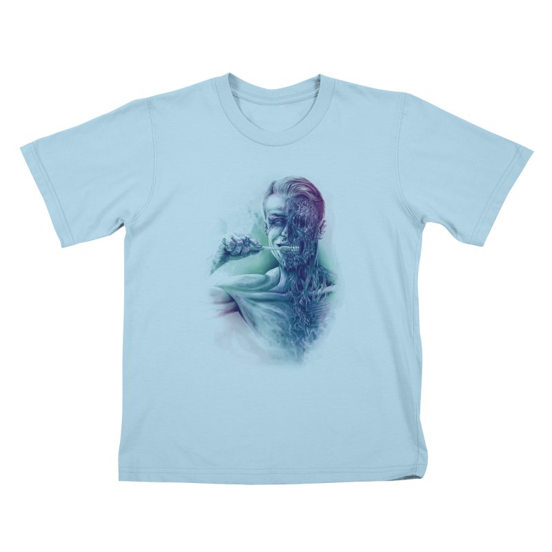 Hygienic Zombie Kids T-shirt by ramos's Artist Shop
