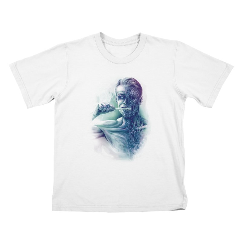 Hygienic Zombie Kids T-shirt by ramos's Artist Shop