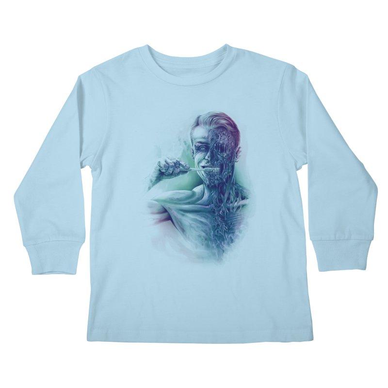 Hygienic Zombie Kids Longsleeve T-Shirt by ramos's Artist Shop