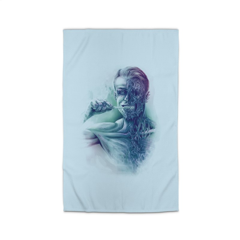Hygienic Zombie Home Rug by ramos's Artist Shop