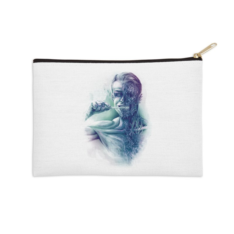 Hygienic Zombie Accessories Zip Pouch by ramos's Artist Shop